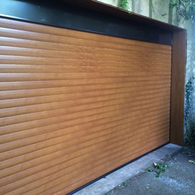 Thermaglide 77 Roller Garage Door In Golden Oak Elite Gd
