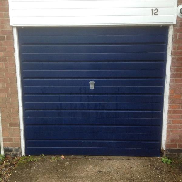 Cardale Steel Side Hinged Garage Door 70 30 Split In Anthracite Grey Elite Gd