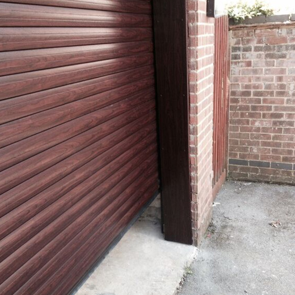 Thermaglide 77 Roller Garage Door In Rosewood Elite Gd