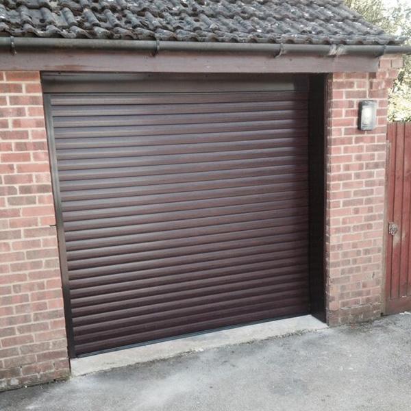 Thermaglide 77 Roller Garage Door In Rosewood Elite Gd