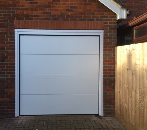 sectional garage door in bicester