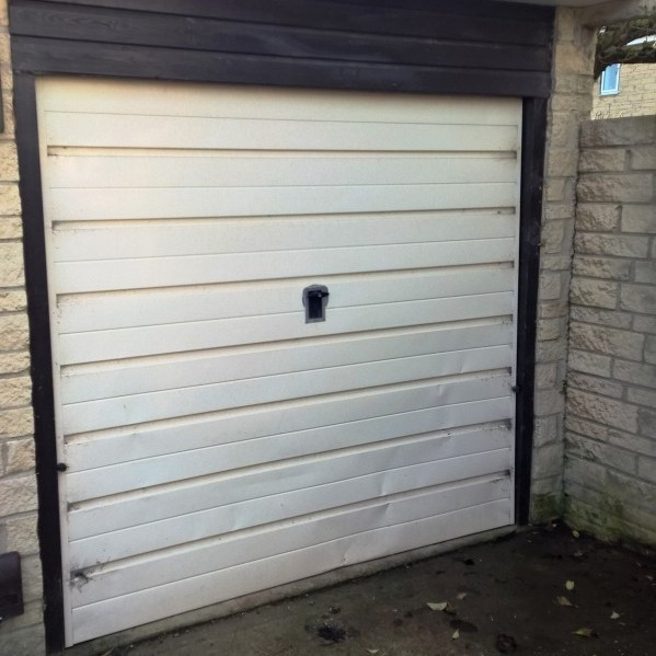 Black Thermaglide 77 Automated Roller Garage Door In Witney Elite Gd