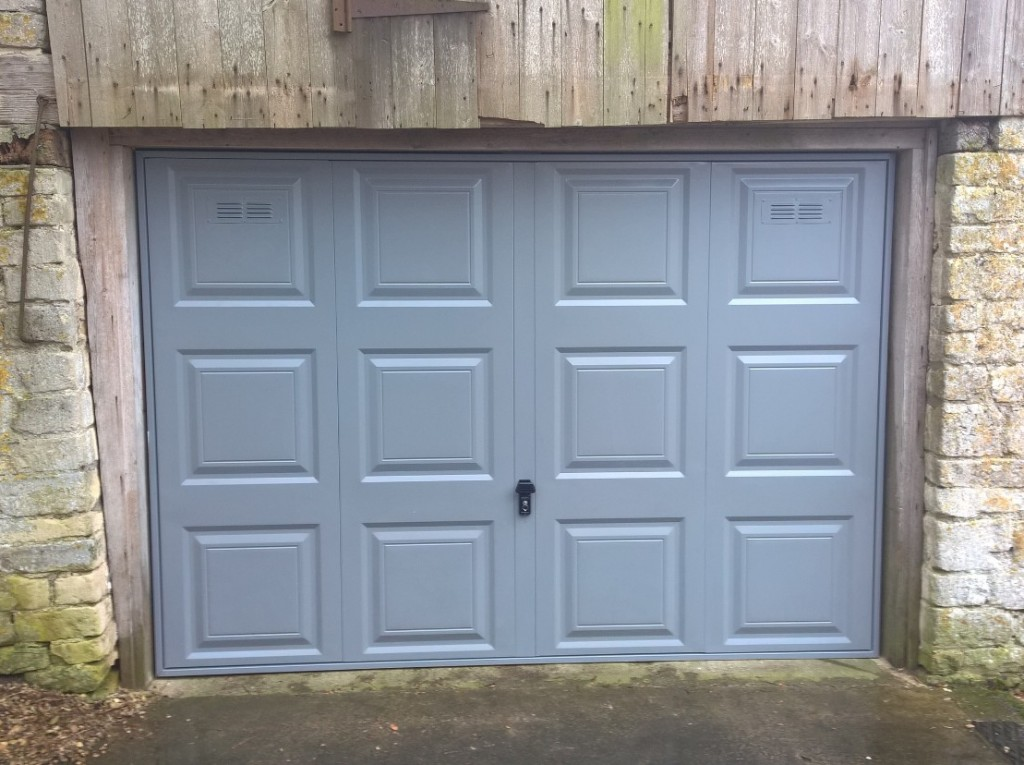 air vents in garage door