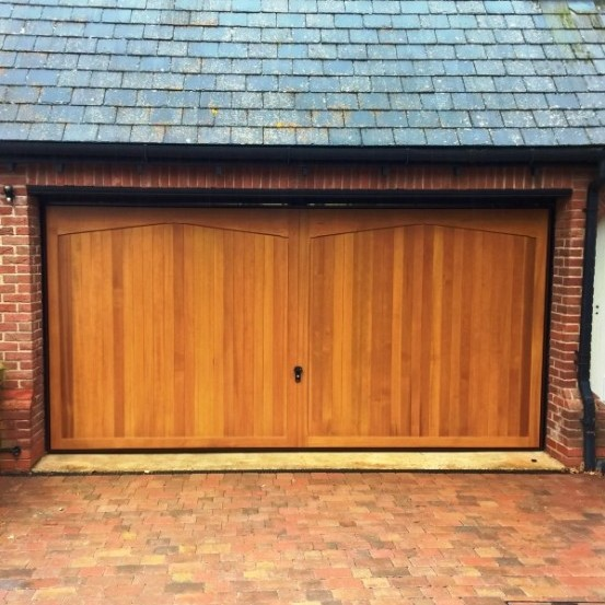 Cardale Gatcombe Double Timber Garage Door Elite Gd