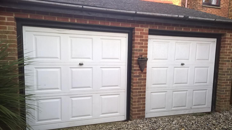 Cardale Georgian Retractable Garage Door Installation