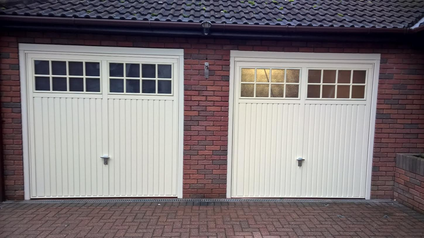 Exceptional Pair Of Cardale Bedford Up U0026 Over Garage Doors