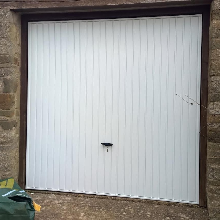 garage door trade property developer brackley