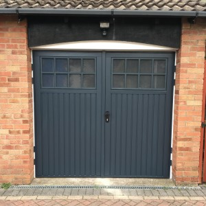bedford side hinged, anthracite grey