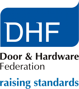 DHF logo with strapline as a PNG