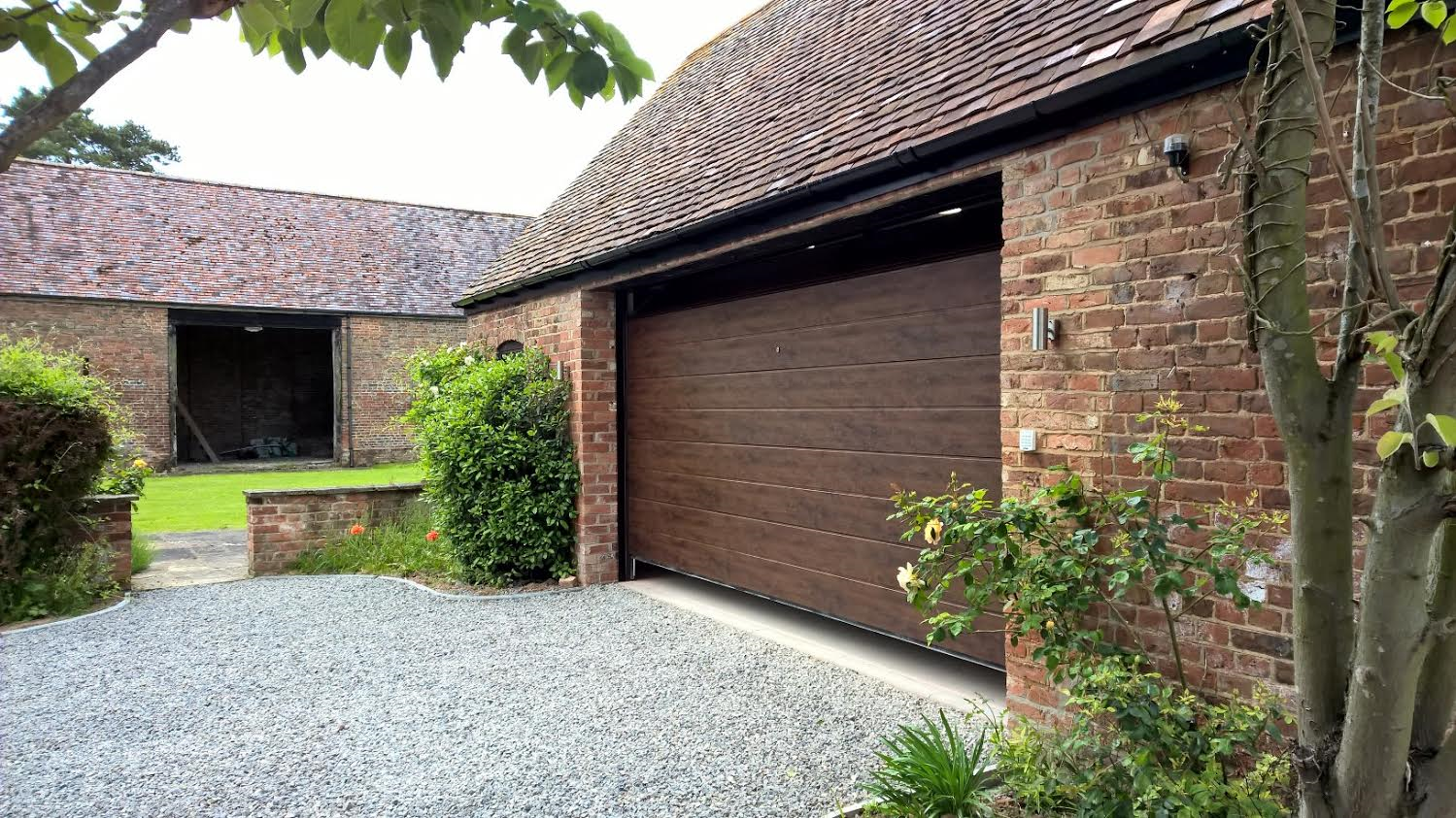 843 #496030 Dark Oak Sectional Garage Door In Gloucestershire Elite GD picture/photo Garage Doors Near Me 37391499