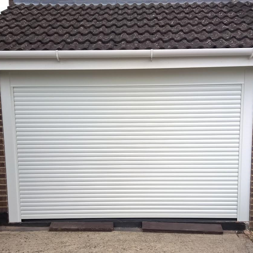 Compact Electric Roller Garage Door In Kidlington Elite Gd