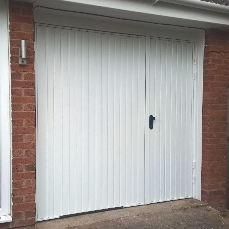 70 30 Split Side Hinged Garage Door Elite Gd