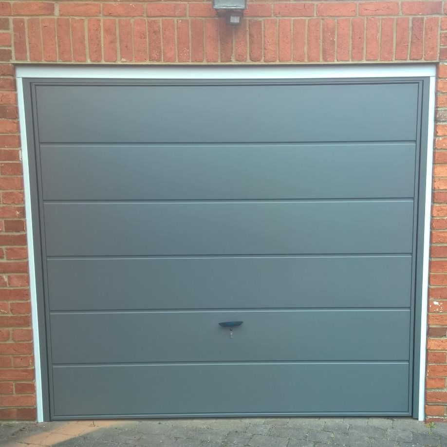 Haven Horsham Garage Door. BEFORE PHOTOGRAPH