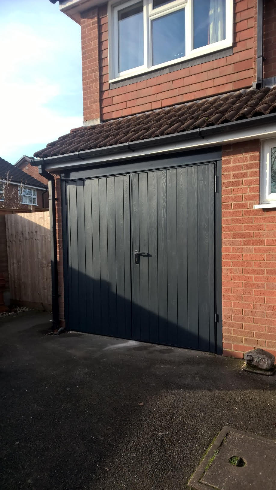 Side hinged archives elite gd for Garage side entry door