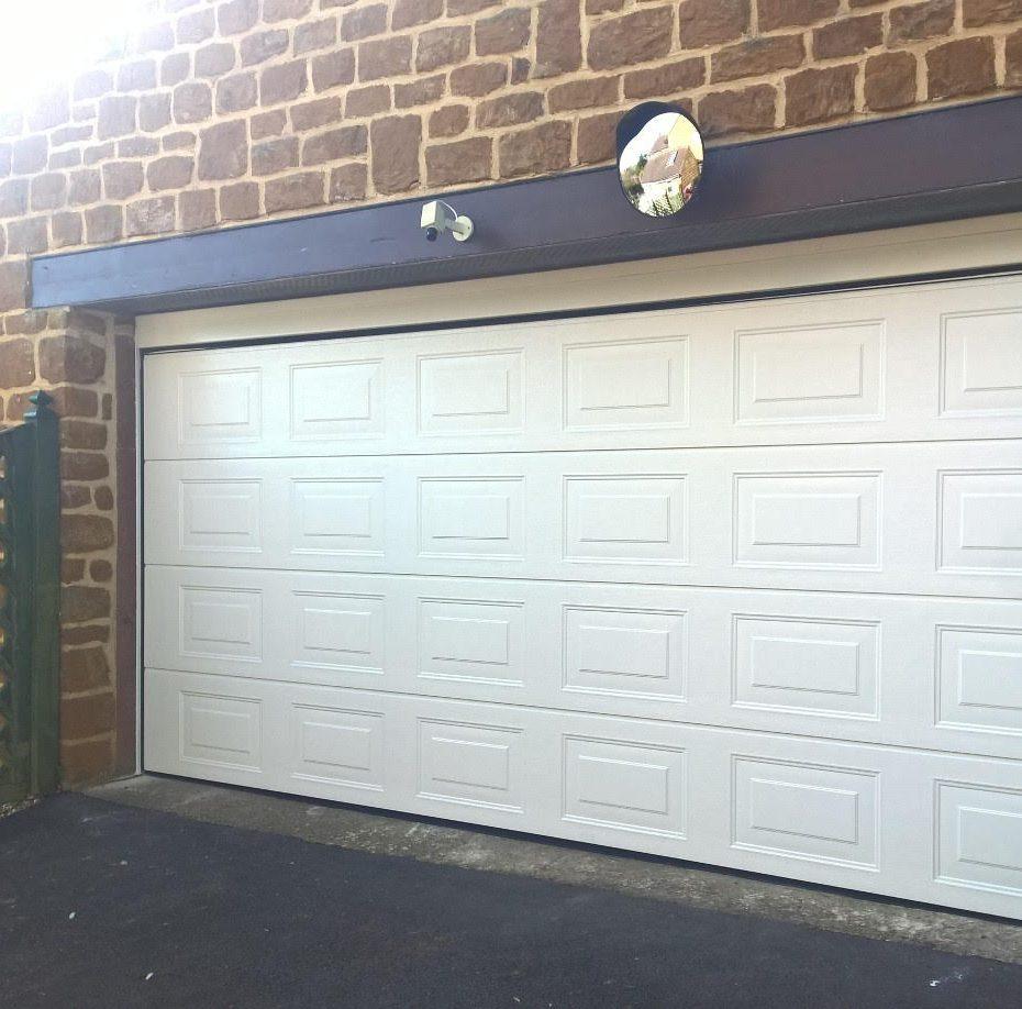 Iso 45 Panelled Sectional Garage Door In Ral9001 Elite Gd
