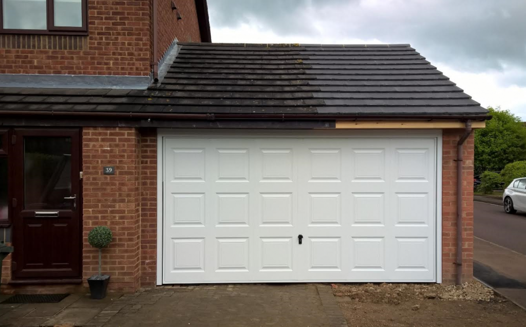 georgian double garage door