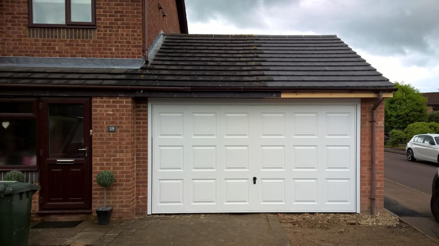 double georgian up and over garage door elite gd