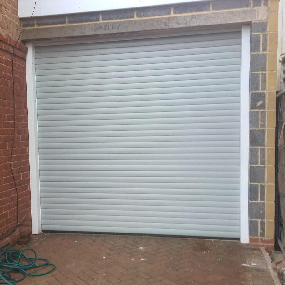 grey aluroll roller doors