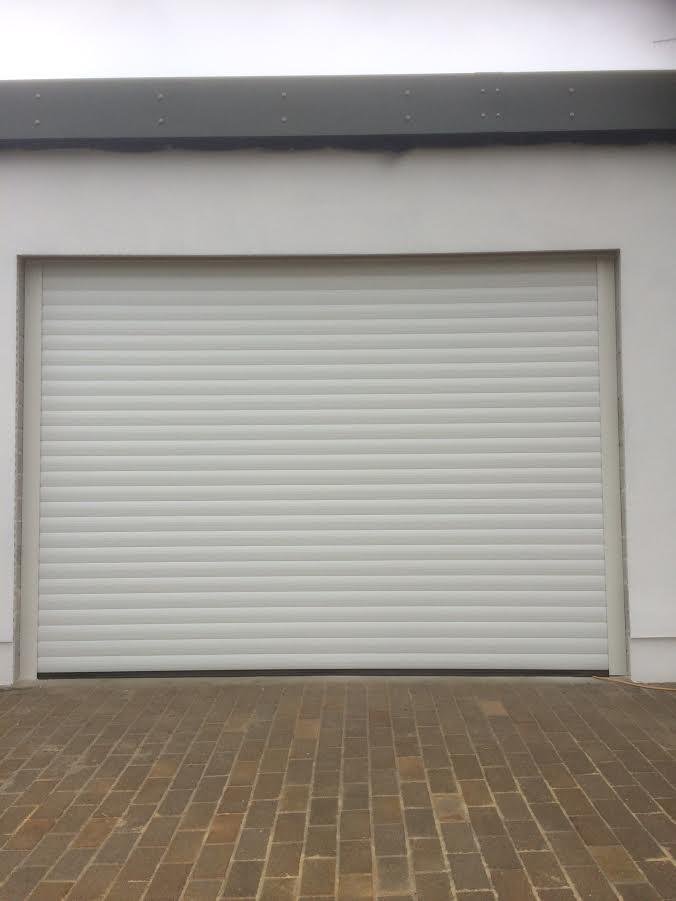 Newquay Garage Doors Automated 77 Roller Door Installed In Newquay