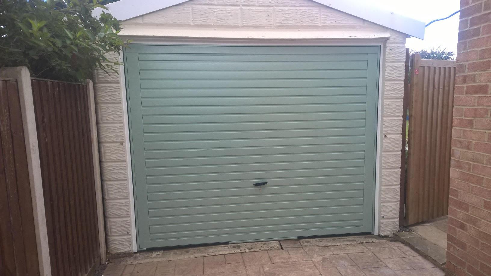 Chartwell Green Up And Over Garage Door Elite Gd