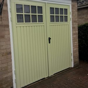willow green garage door
