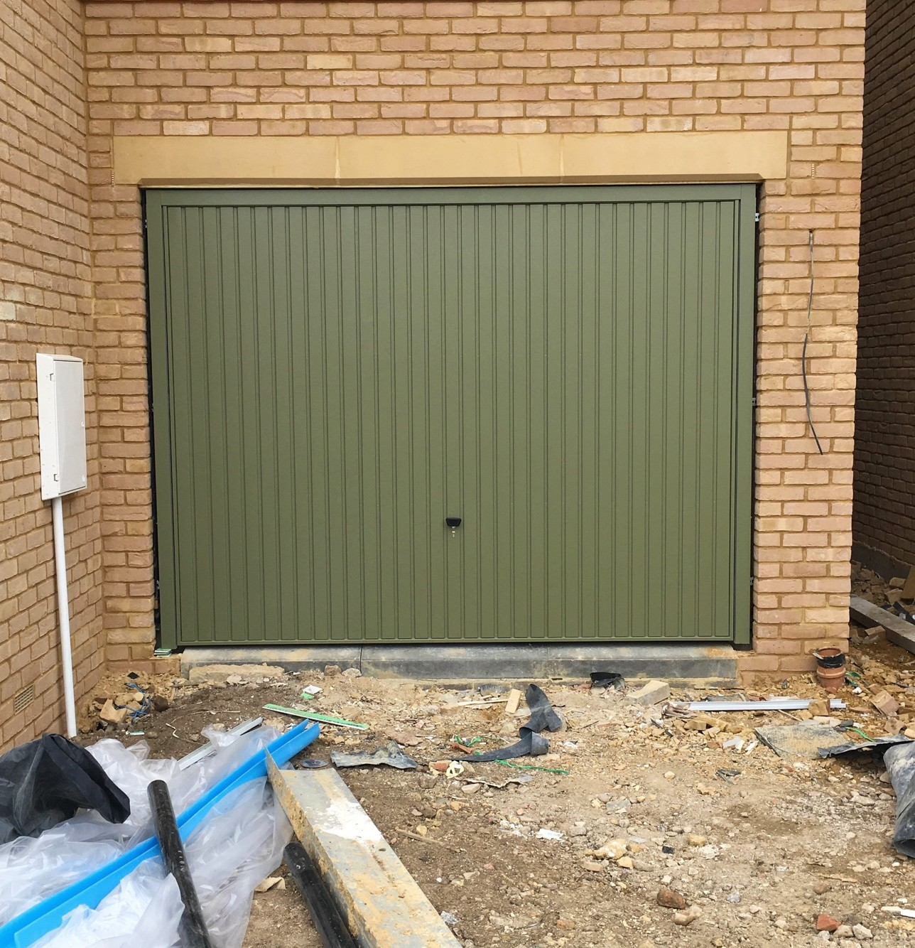 Reed Green Ral 6013 Up And Over Garage Doors Elite Gd