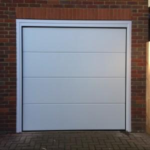 sectional garage door in bicester