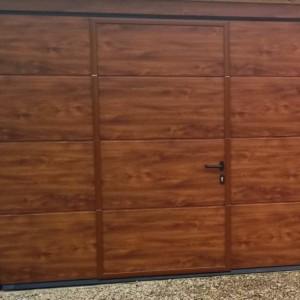 sectional garage door warwickshire