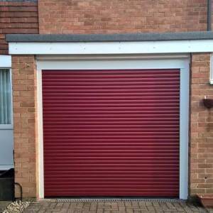 roller garage door in wendover