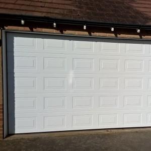 sectional garage door brackley