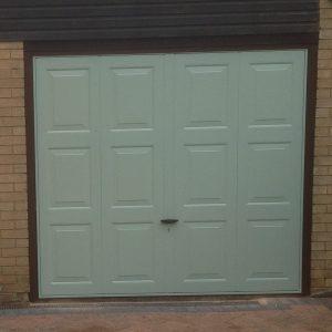chartwell green garage door
